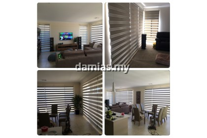 zebra blinds bidai Curtains for all type window [ 5 x 6 feet ]