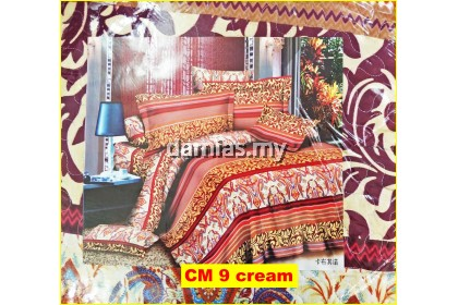 Cadar Patchwork Set 3 IN 1 / Bed Sheet [ QUEEN / KING ]