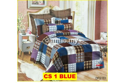 Cadar Patchwork Set 2 IN 1 / Bed Sheet VOL 1 [ SUPER SINGLE]