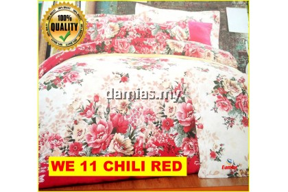 Cadar Patchwork Set 2 IN 1 WE / Bed Sheet VOL 1 [ SUPER SINGLE]