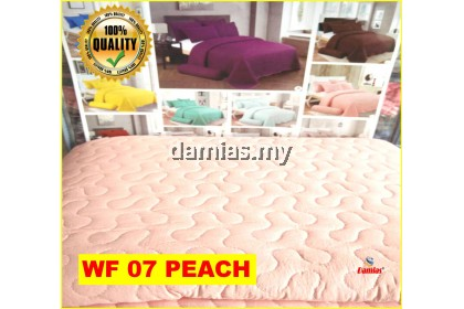 CADAR PATCHWORK PLAIN 6IN1 COTTON WF [ QUEEN SIZE ]