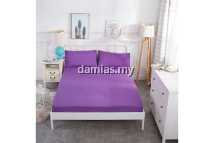 Single fitted bedsheet 100% cotton 800 thread count 2in1