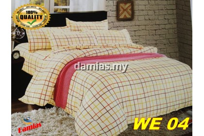 Cadar Patchwork Set 2 IN 1 WE / Bed Sheet VOL 3 [ SUPER SINGLE]