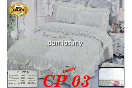 Cadar pengantin Set 5 IN 1 Bed Sheet wedding [ READY STOCK ]