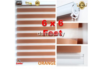 Bidai Blinds [ 6 Kaki Lebar x 6 Kaki Panjang ] box packaging