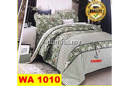 7 in 1 Bed sheets patchwork (100% Cotton) / Cadar patchwork siri 1