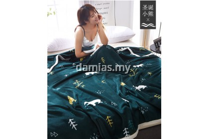 Queen size selimut sleeping Blanket Blankets Soft Mink