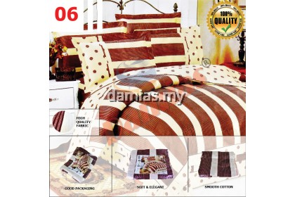 Bed Sheet Bedsheet Cadar Premium 100% cotton fitted [ queen size ]