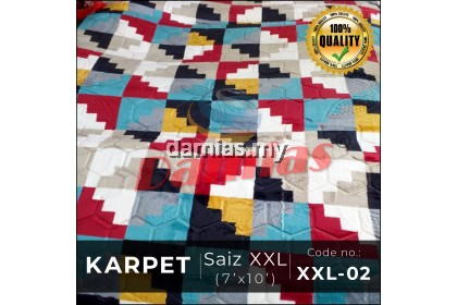 KARPET SUPER MINK TATAMI CARPET XXL - SIRI 8
