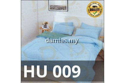 Cadar Set 7 IN 1 with COMFORTER + Bed Sheet HU [ SUPER QUEEN ]