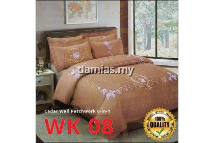 CADAR WALI PATCHWORK 100 % COTTON SET 6 IN 1