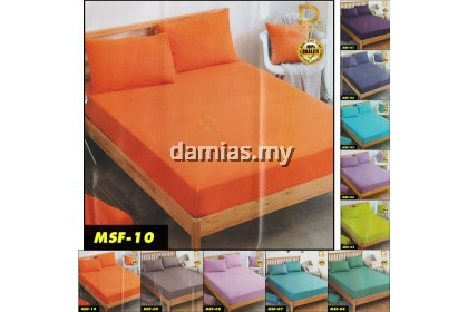 Cadar Mimiko Single Fitted Set 2 in 1 set katil Bujang