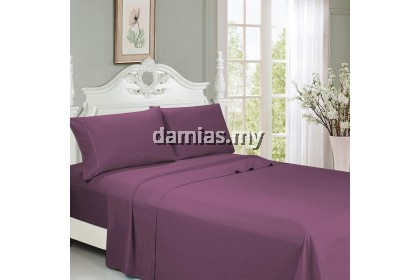 CADAR QUEEN SIZE 7IN1 FITTED MASTURA BEDSHEET 100% COTTON