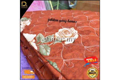 Cadar Ainul Mardiah Patchwork 6 In 1 Size Queen Anti Kedut High Quality New Collection