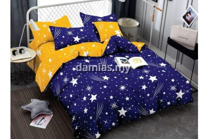 Cadar Set with Comforter Bedsheet Single / Queen / King (NEW READY STOCK)