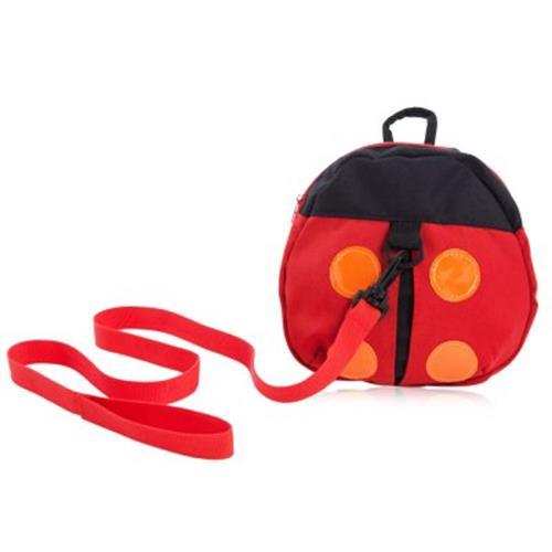 CUTE LADYBIRD DESIGN BABIES KEEPER TODDLER SAFETY HARNESS BACKPACK BAG (RED)