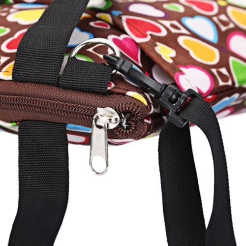 MULTI-FUNCTIONAL NEAT INSULATION BOTTLE PRESERVATION BENTO BAG (BROWN)