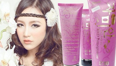 Red Pomegranate SPF50 (Pink)