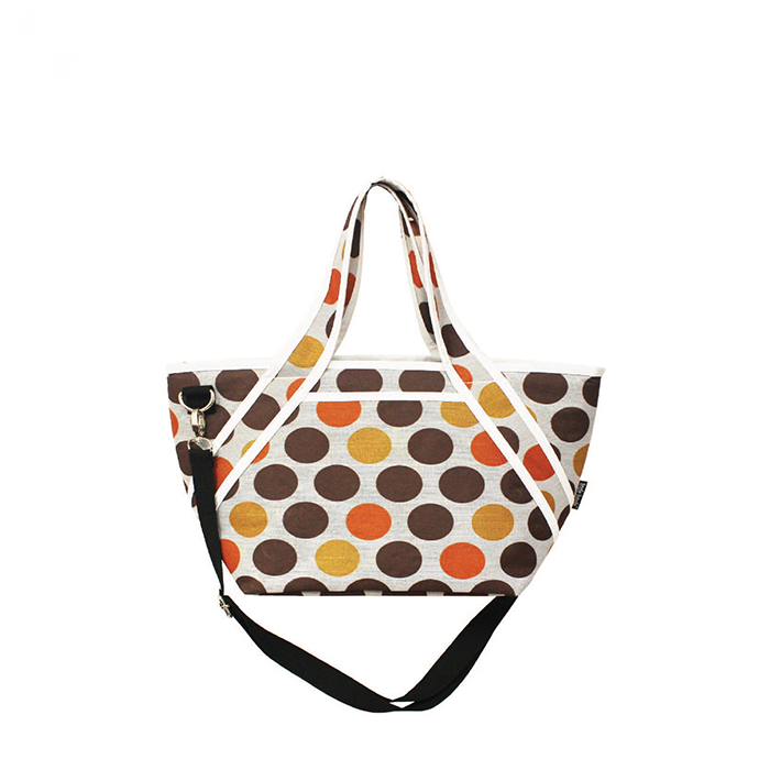 Jingle Jungle - Radiant Mom Cooler Tote Crossbody Bag (Coco Bubbles)