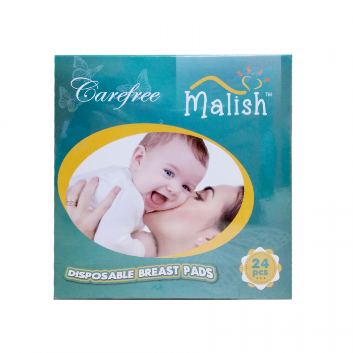 Malish Carefree Disposable Breast Pad 24Pcs