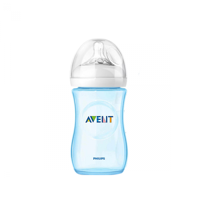 Philips AVENT Natural 260ml (9oz) Special Edition (Blue) x 1 (Loose - No Box)