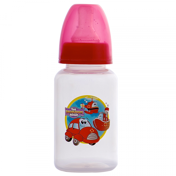 Tinee Minee - Feeding bottle 150ml Cars - Red