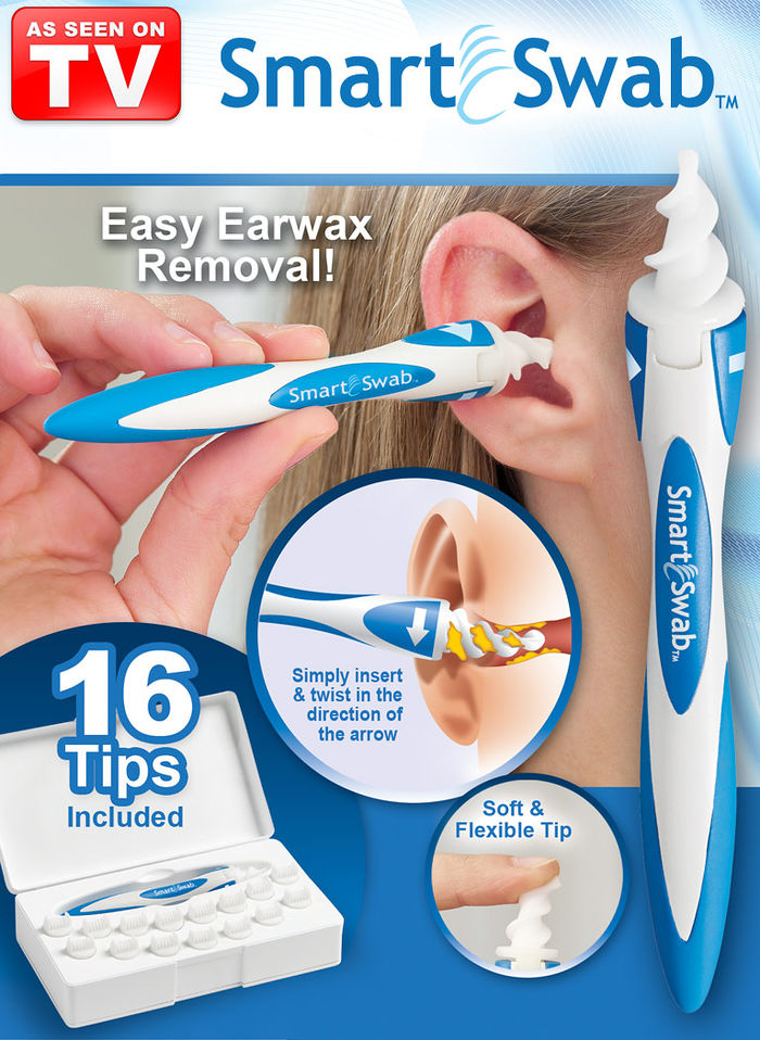 Smart Swab Safe Ear Cleaner