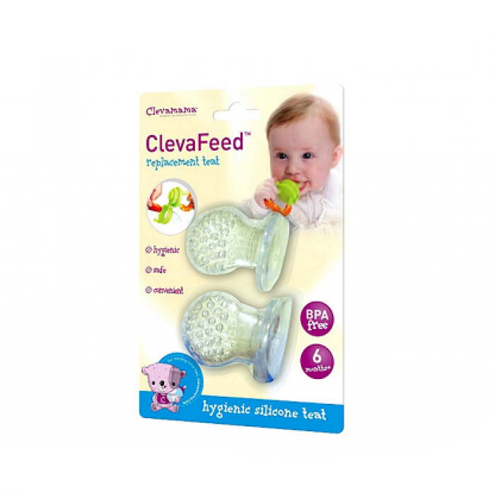 Clevamama - ClevaFeed Silicone Safe Feeder Replacement Teat x 2