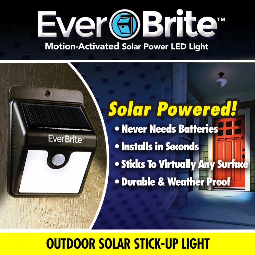 Ever Brite Solar Motion Activated Lights