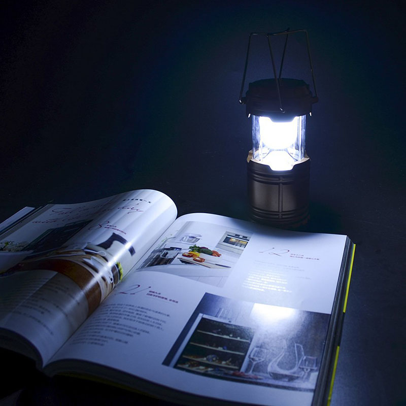 Led solar outdoor rechargeable camping lantern camping lamp small port aloadofball Image collections