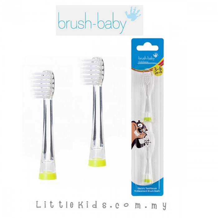 Brush Baby Mikey Replacement Heads x 2