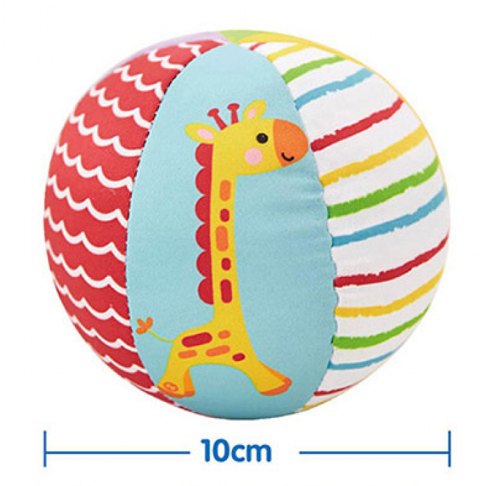 Fisher-Price Animal Stuffed Ball With Bell (Model F0806)