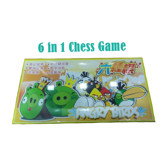 Angry Birds 6in1 Chess Game