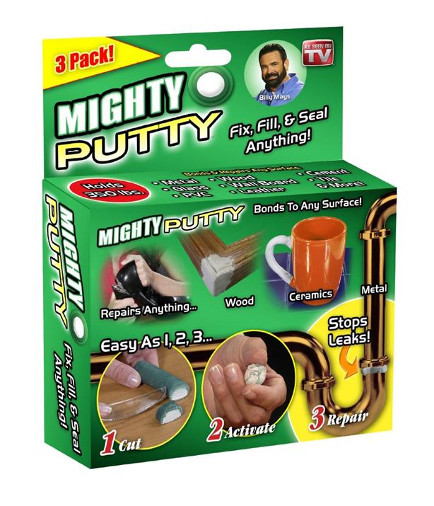 3 Pack Magic Mighty Putty Fill Seal Glue Adhesive Tool