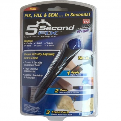 5 Second Fix UV Light Repair  Tool With Glue Super Powered Liquid