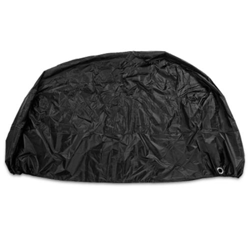 LEISE OUTDOOR 210D OXFORD FABRIC OUTDOOR MOTORCYCLE COVER (BLACK)