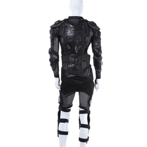 MOTORCYCLE RIDING HOCKEY CLOTHING ARMOR PROTECTION JACKET ABRASIVE RESISTANCE BREATHABLE MATERIAL XXL SIZE