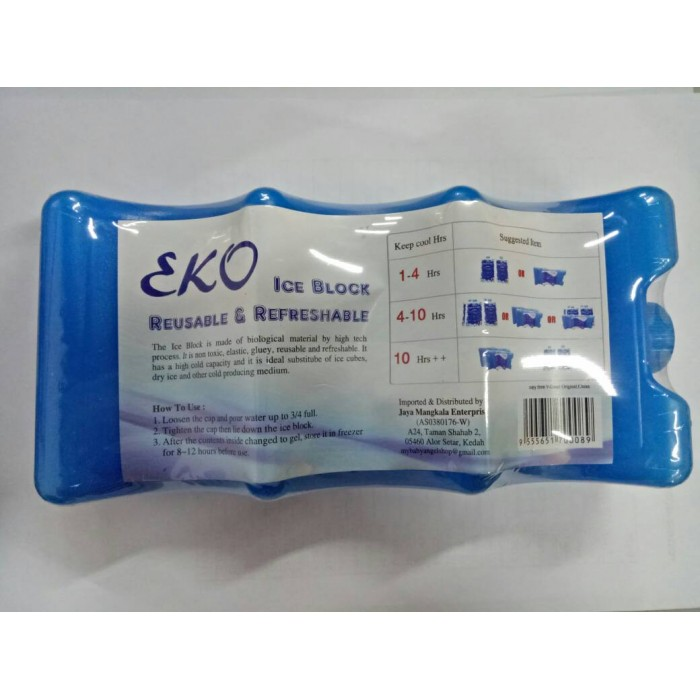 EKO Reusable & Refreshable Ice Block (Random Color)