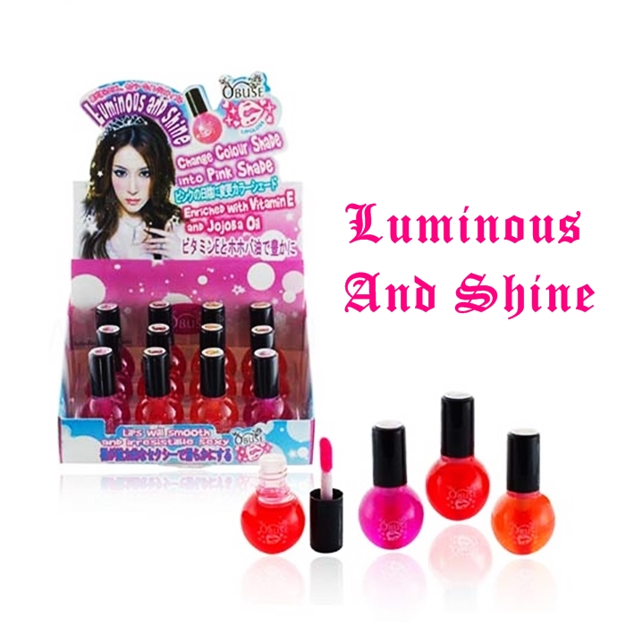 Obuse Lip Gloss (12pcs)