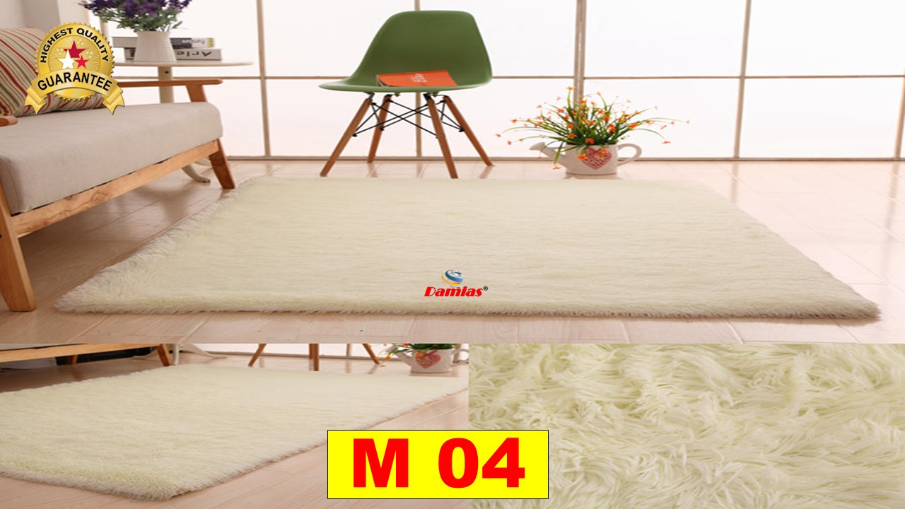 Soft Shaggy Carpet Floor Rugs karpet pelamin ( 90 x 130cm ) - M
