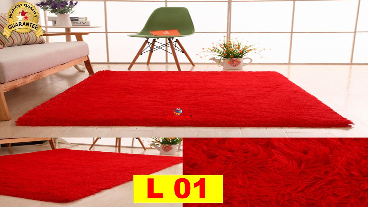Soft Shaggy Carpet Floor Rugs Karpet Pelamin 110 X 160cm L