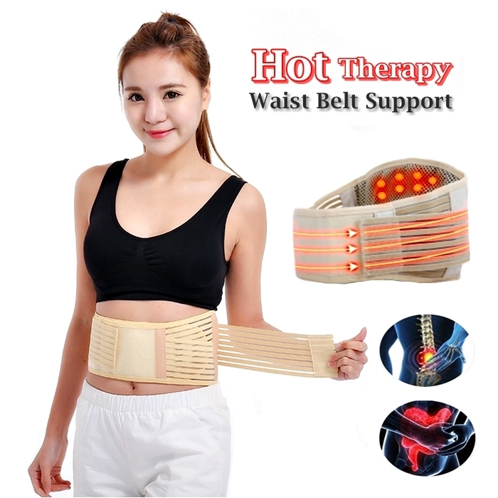 Hot Therapy Waist Belt Support