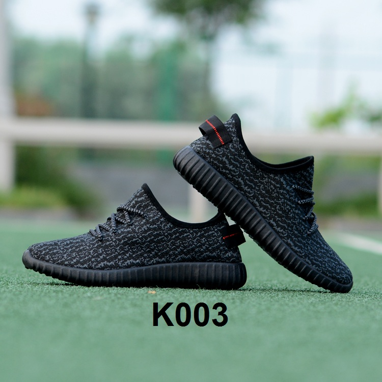 Sport Cassual Shoes Abstrak Black/Black K003