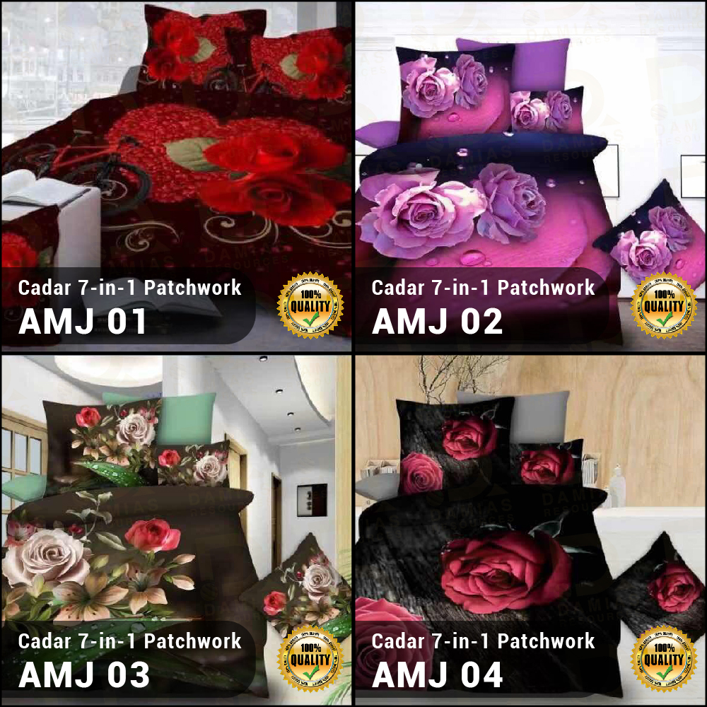 CADAR 7 IN 1 WITH PATCHWORK HADIAH KAHWIN