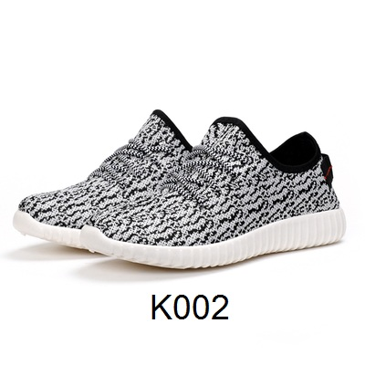 Sport Cassual Shoes Abstrak White/Black K002