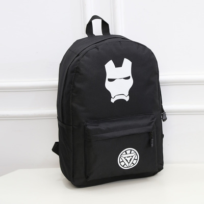 Backpack Luminous Safety Reflective School Sports Bags (Iron Man)