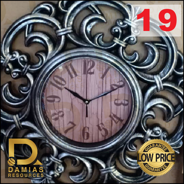 JAM DINDING / WALL CLOCK DIAMOND ALL LATEST DESIGN EXCLUSIVE MUSLIM