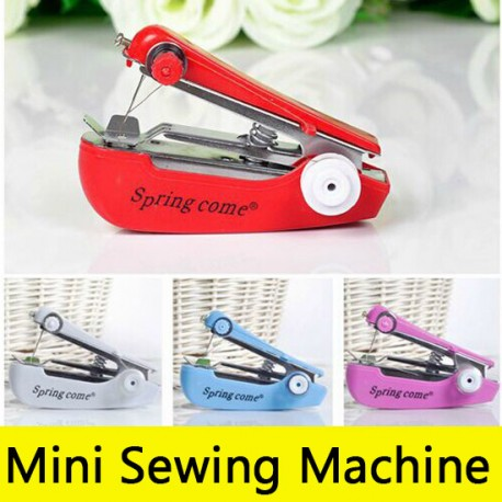 Mini Handheld Sewing Machine Pocket Beauteous Portable Hand Sewing Machine
