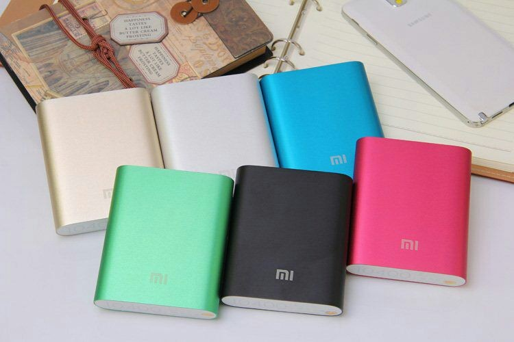 Aluminium Mi Power Bank Powerbank OEM 10400mAh Powerbank
