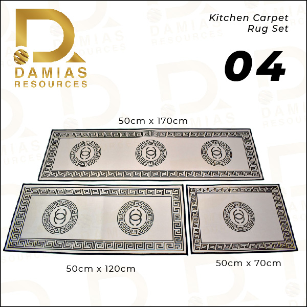KITCHEN RUNNER CARPET RUG CHANNEL ALAS KAKI VIRAL